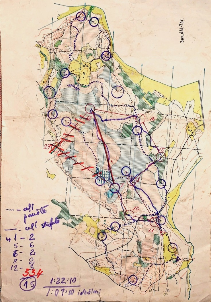 Kurveģis 1973.g Rukšāns - Limbēna skrējiens - 1